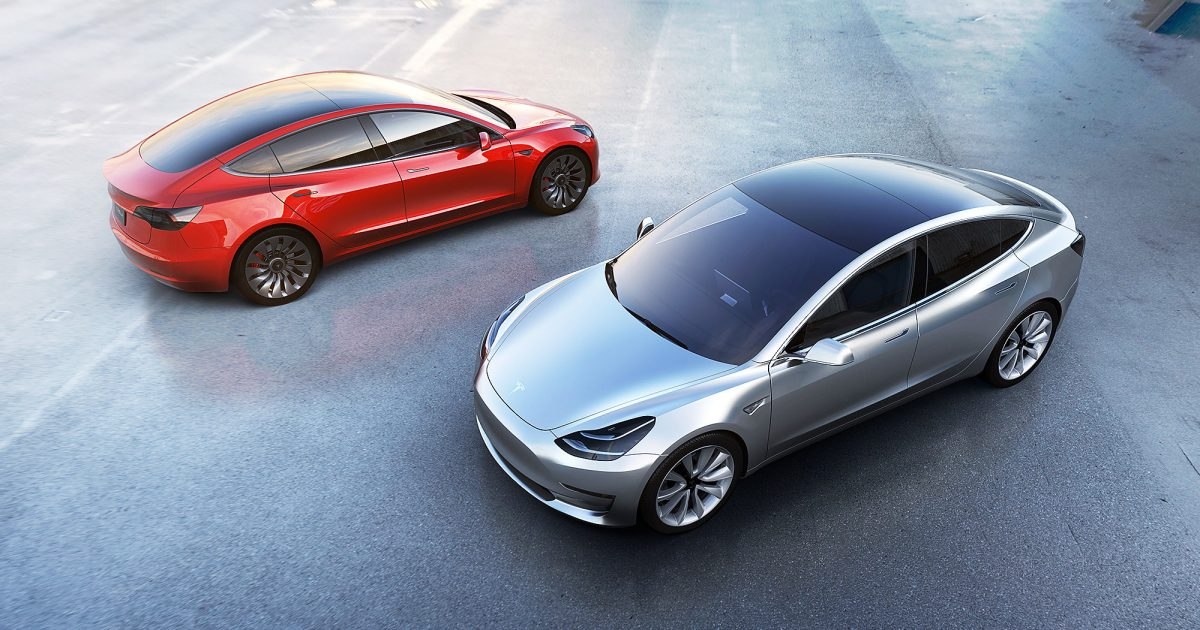 Hello Electric Future… Tesla Primes Itself For Next Wave Of Model 3Deliveries